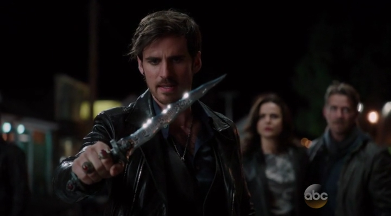 C'era una volta: Colin O'Donoghue, Lana Parrilla e Sean Maguire in The Dark Swan