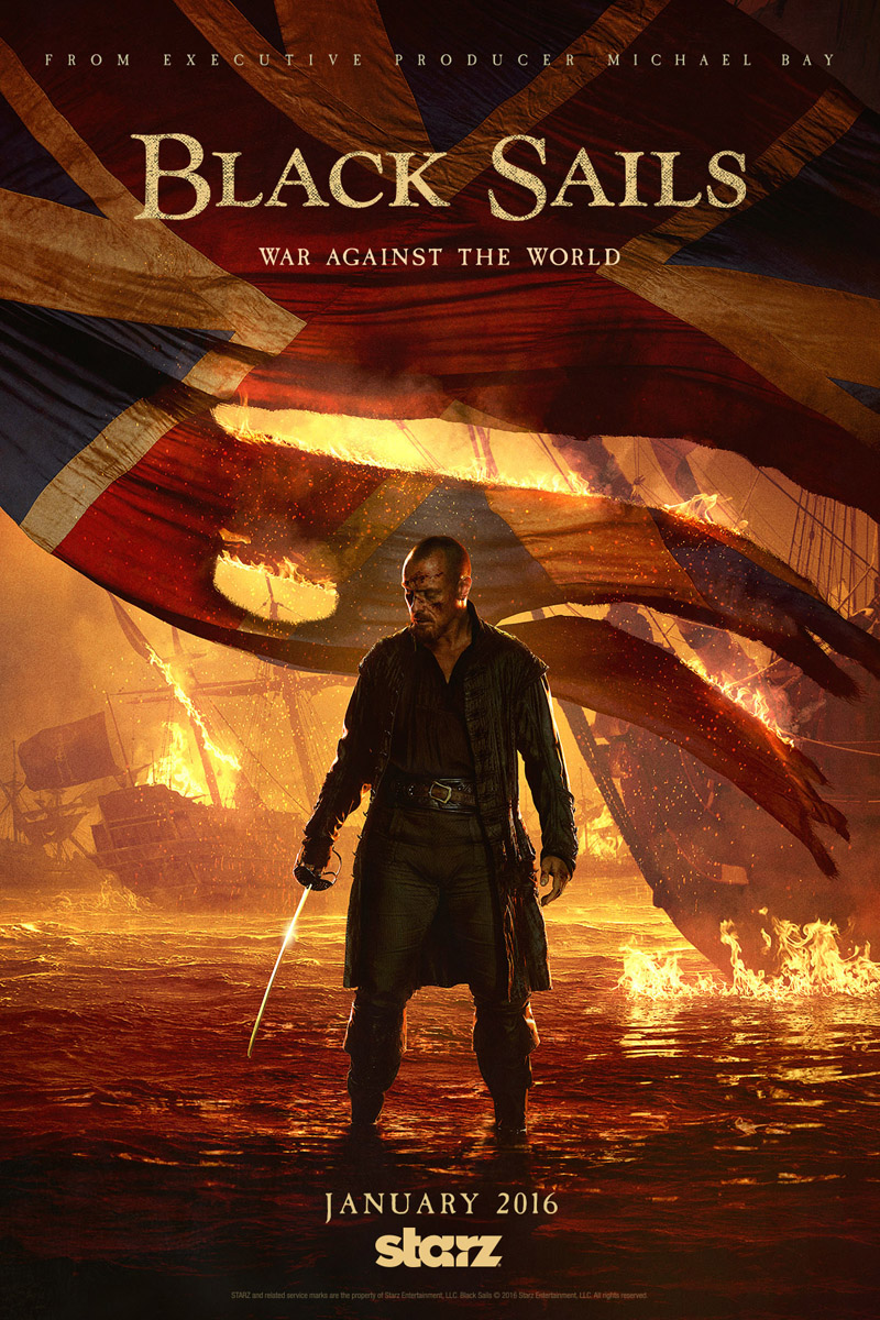 Black Sails: la locandina della stagione 3