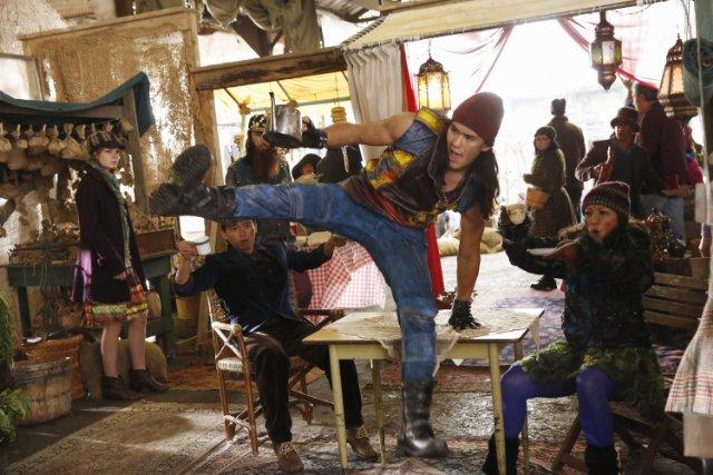 Descendants: Booboo Stewart in una scena del film Disney Channel