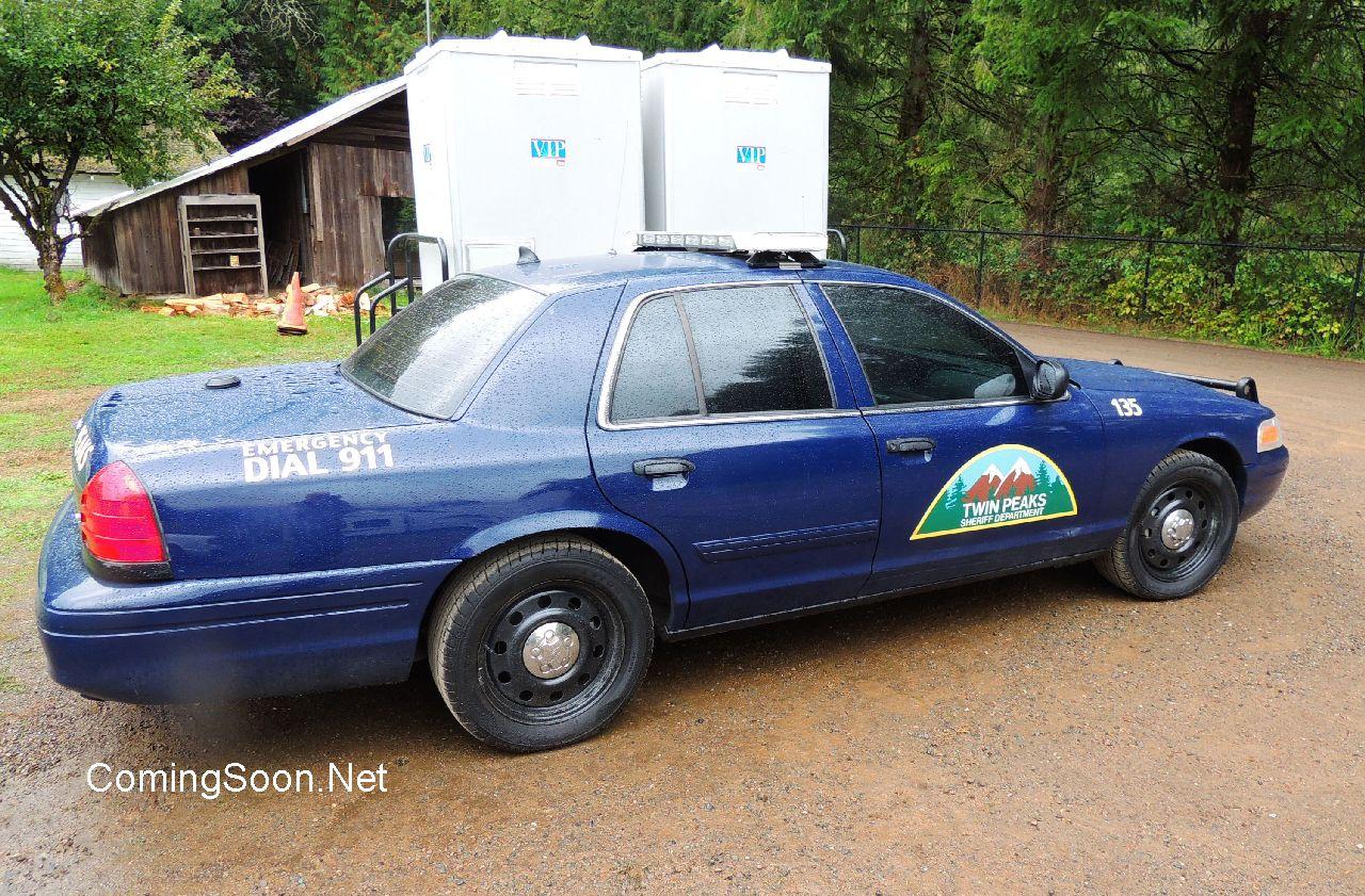 Twin Peaks: la macchina dello sceriffo sul set