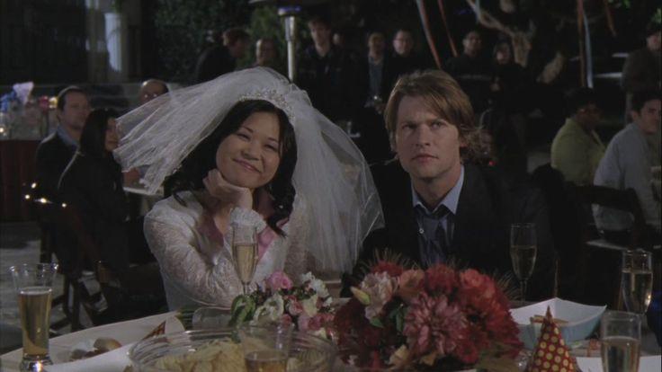 Una mamma per amica: Keiko Agena e Todd Lowe in Un vestito da sposa per Lane