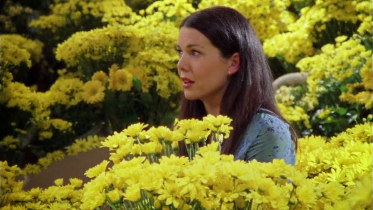 Una mamma per amica: Lauren Graham circondata da margherite gialle in Di nuovo insieme