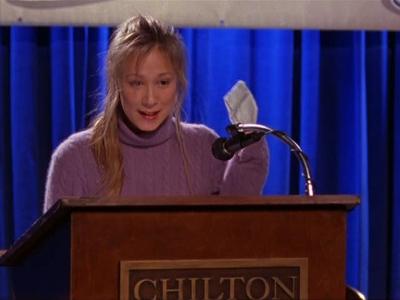 Una mamma per amica: Liza Weil in una foto dell'episodio La busta grande