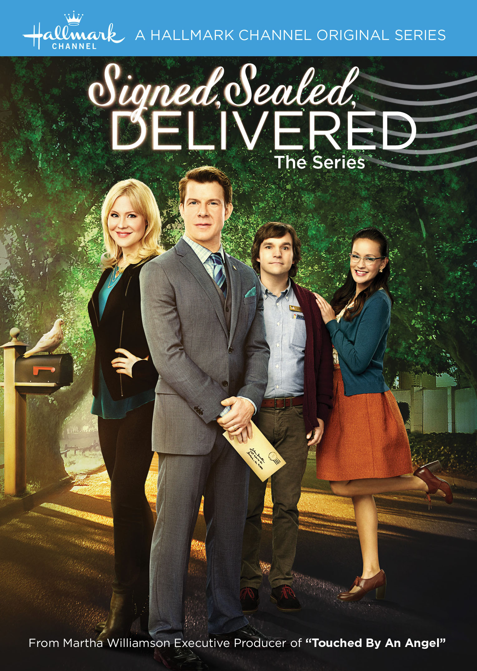 Signed, Sealed, Delivered: la locandina della serie
