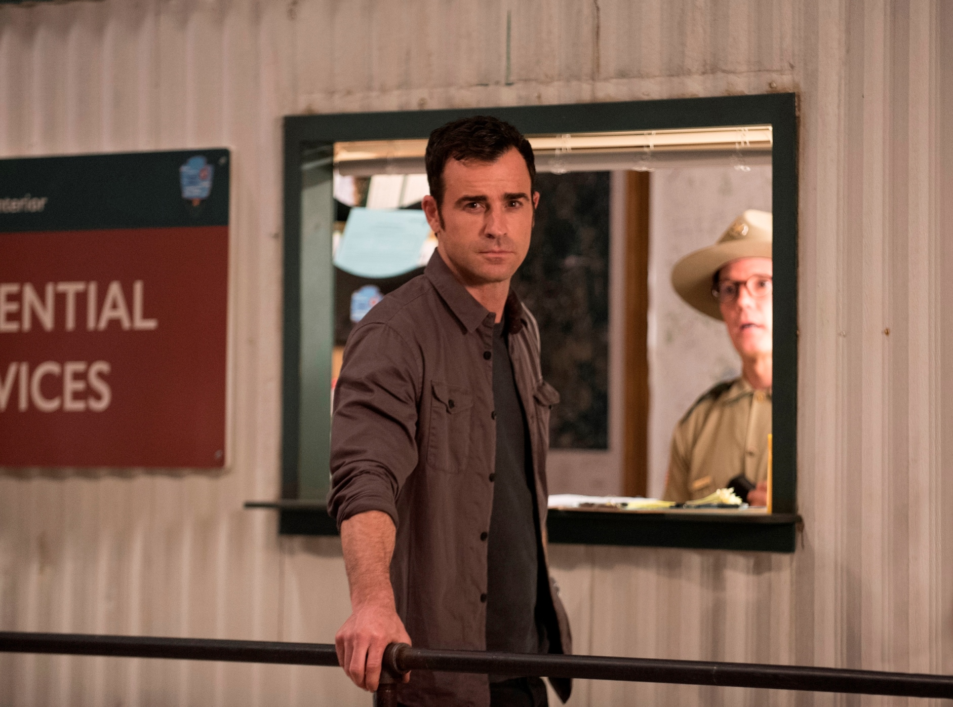 The Leftovers: Justin Theroux in una foto della seconda stagione