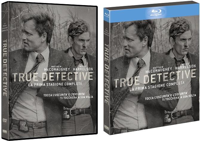 Le cover homevideo di True Detective