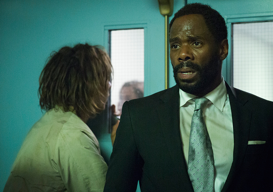 Fear the Walking Dead: Frank Dillane e Colman Domingo in The Good Man