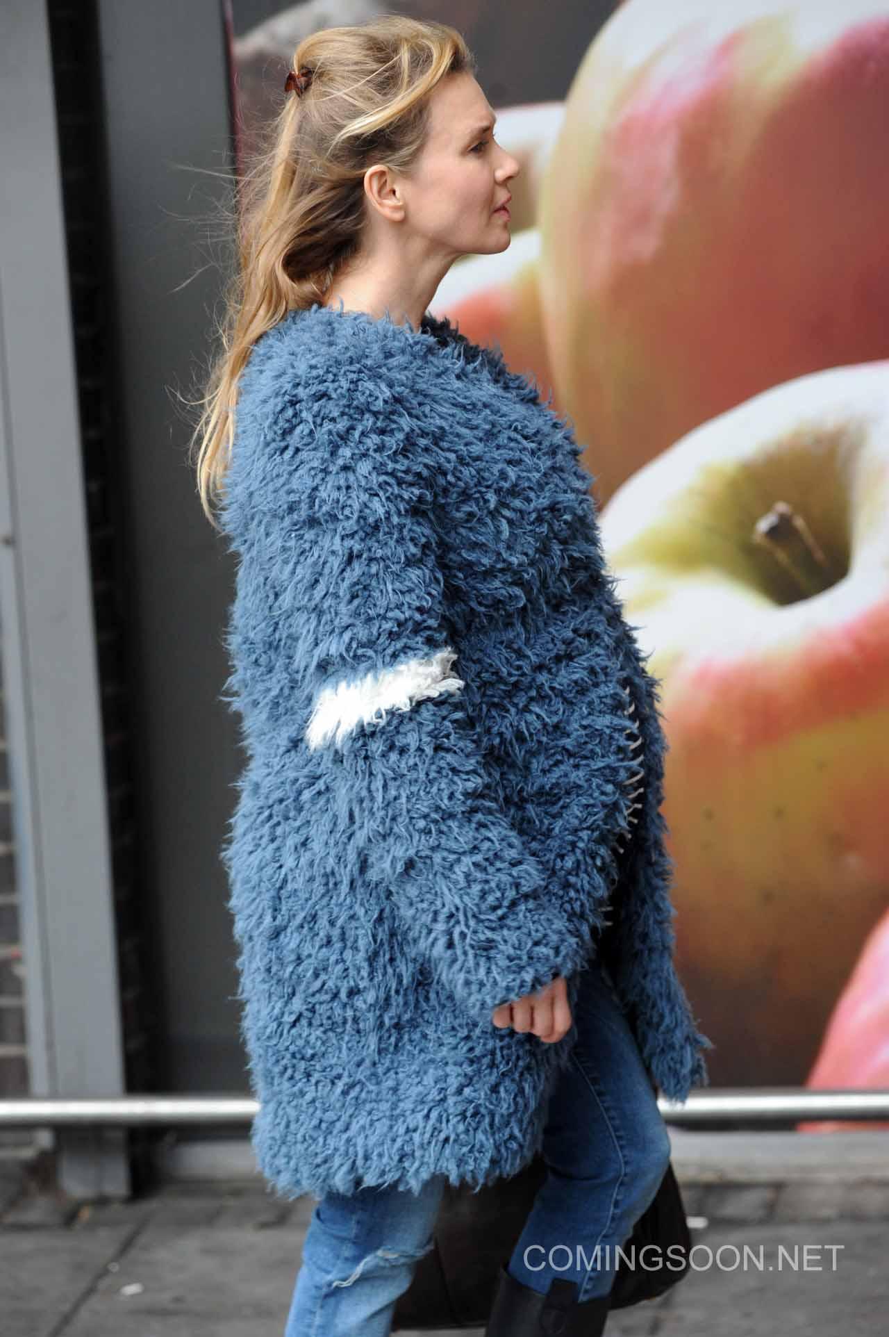 Bridget Jones's Baby: Renée Zellweger sul set