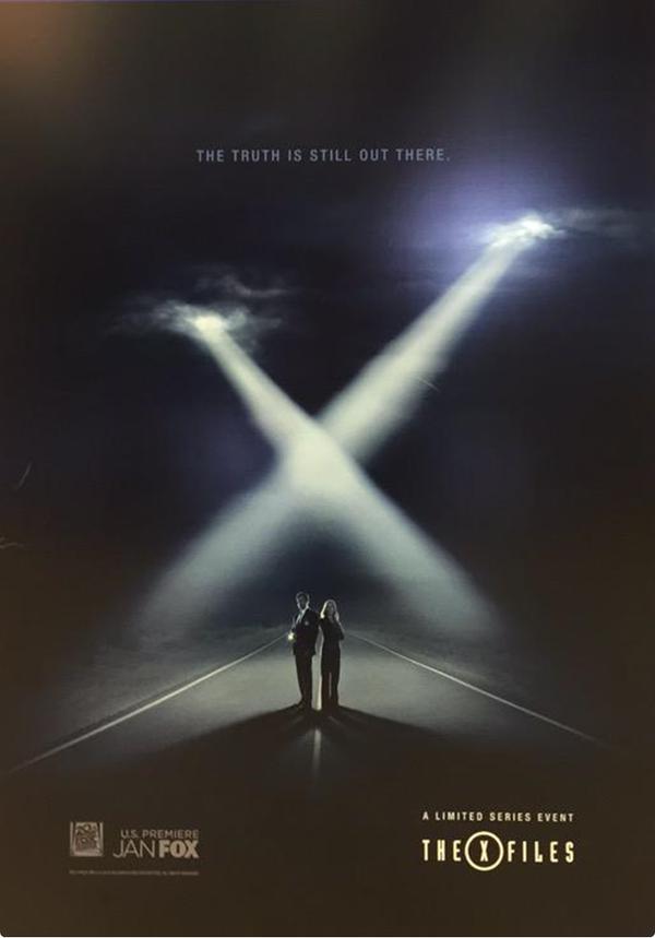 X-Files: il nuovo poster della stagione 10