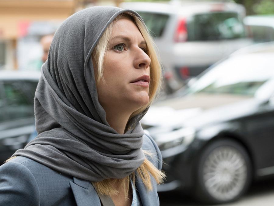 Homeland: l'attrice Claire Danes in una foto di Separation Anxiety