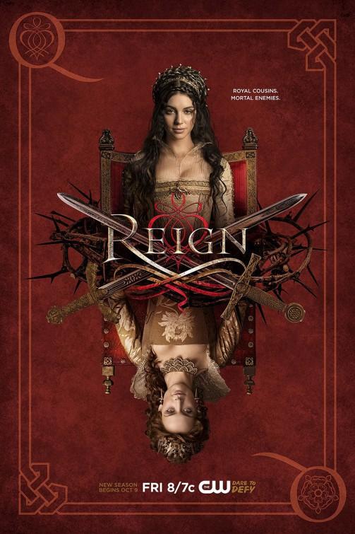 Reign: un manifesto per la terza stagione della serie