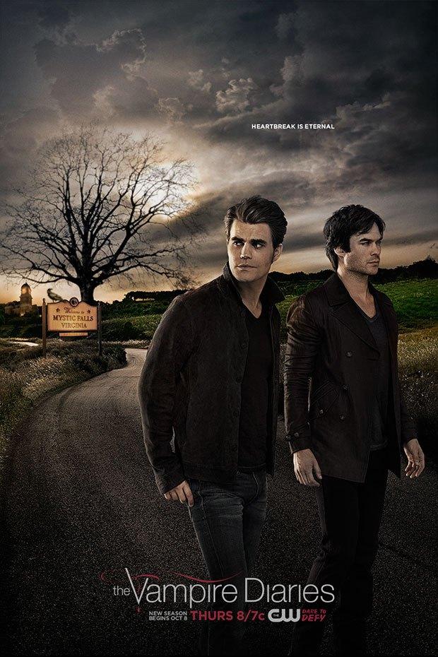 The Vampire Diaries: il poster della settima stagione