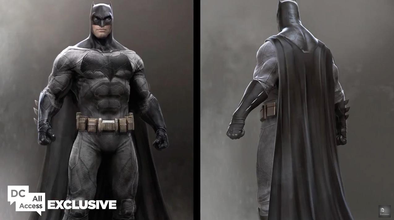Batman v Superman: un concept art creato per il personaggio di Batman