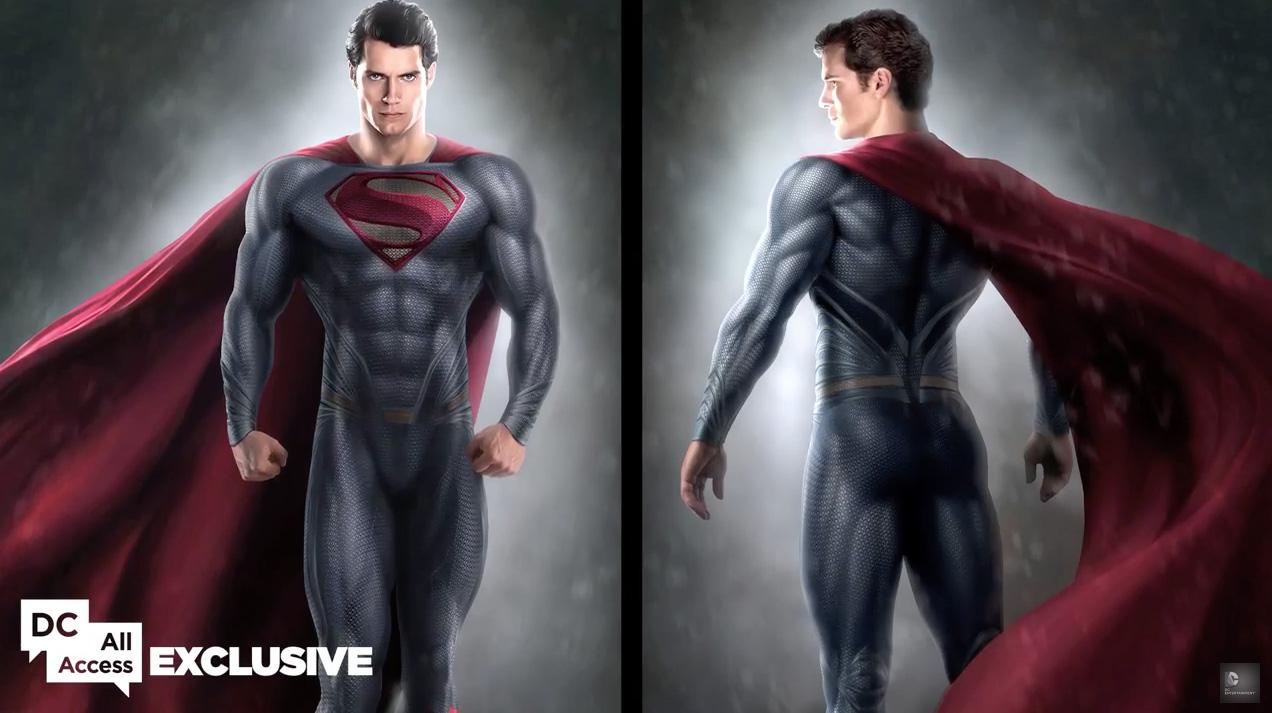Batman v Superman: un concept art dedicato al personaggio interpretato da Henry Cavill