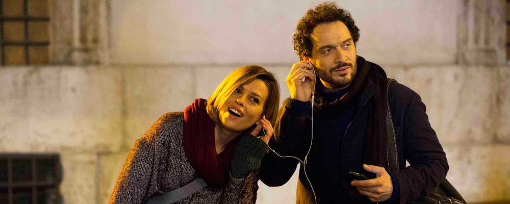 E' arrivata la felicità: i protagonisti Claudia Pandolfi e Claudio Santamaria