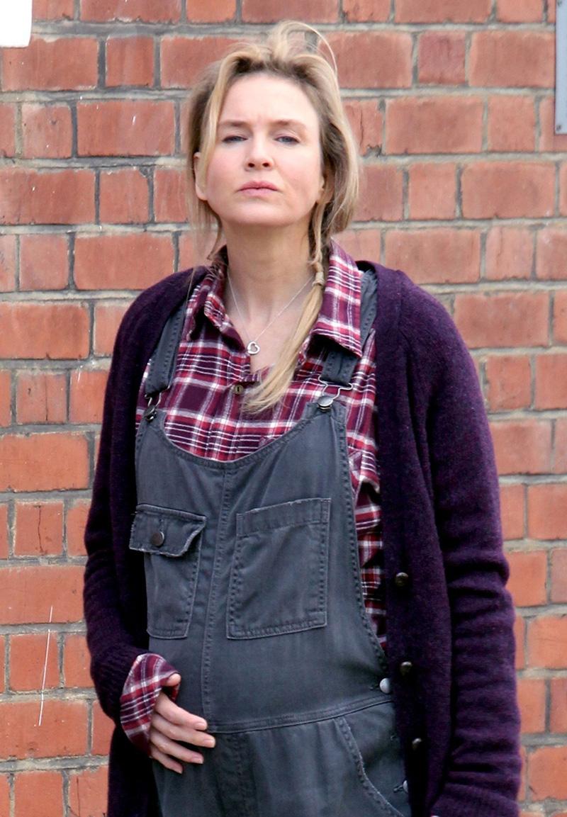 Bridget Jones's Baby: Renée Zellweger sul set del film