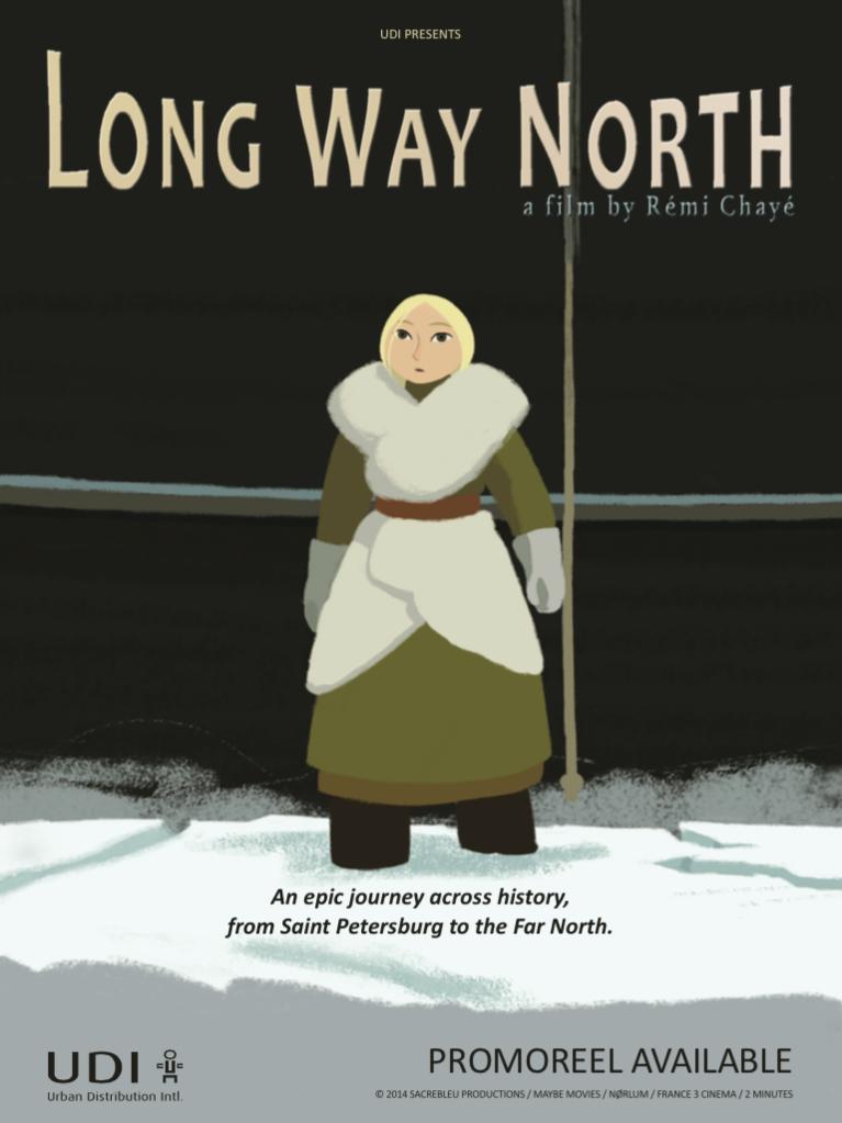 Locandina di Long Way North
