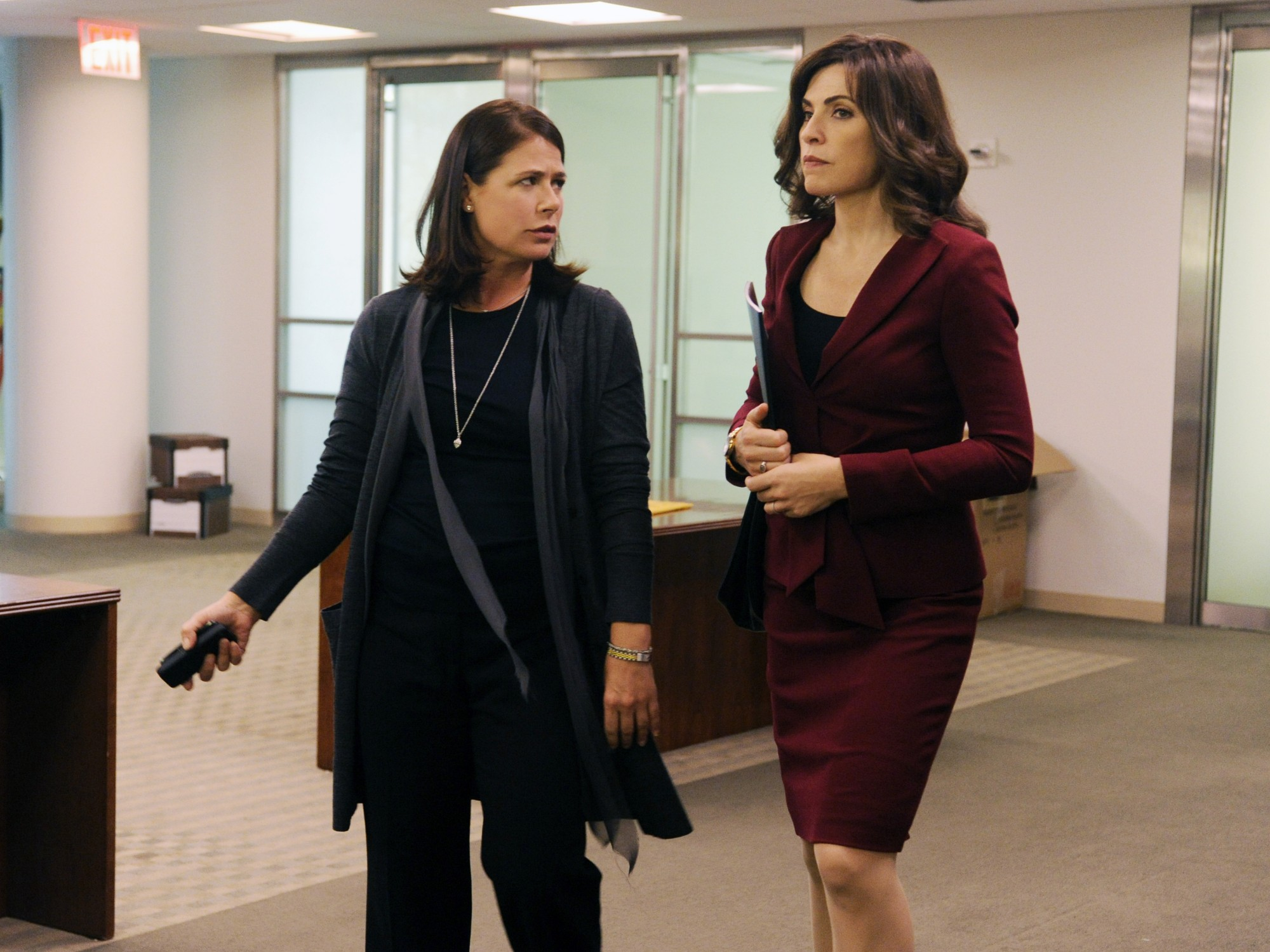 The Good Wife: Julianna Margulies e Maura Tierney