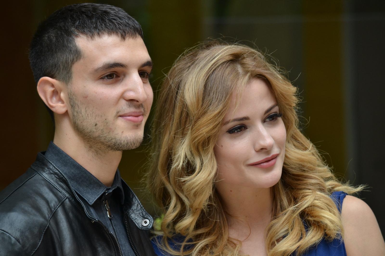 Giulia Elettra Gorietti con Giacomo Ferrara