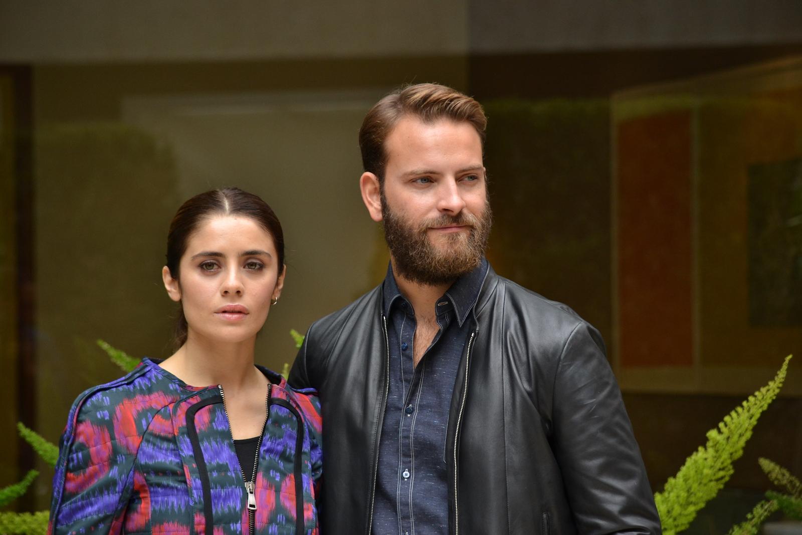 Greta Scarano e Alessandro Borghi presentano Suburra a Roma