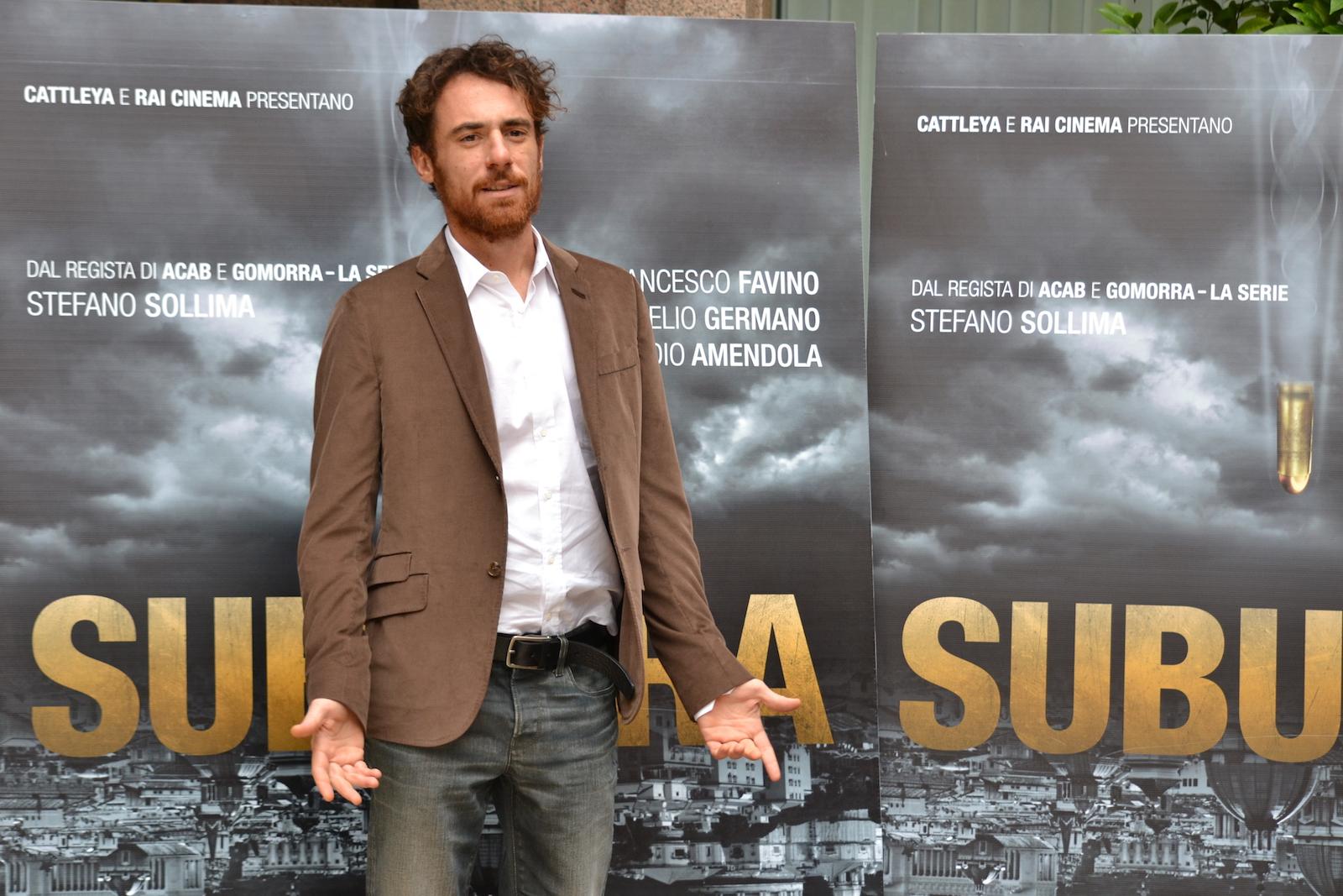 Suburra - Elio Germano presenta il film nella Capitale