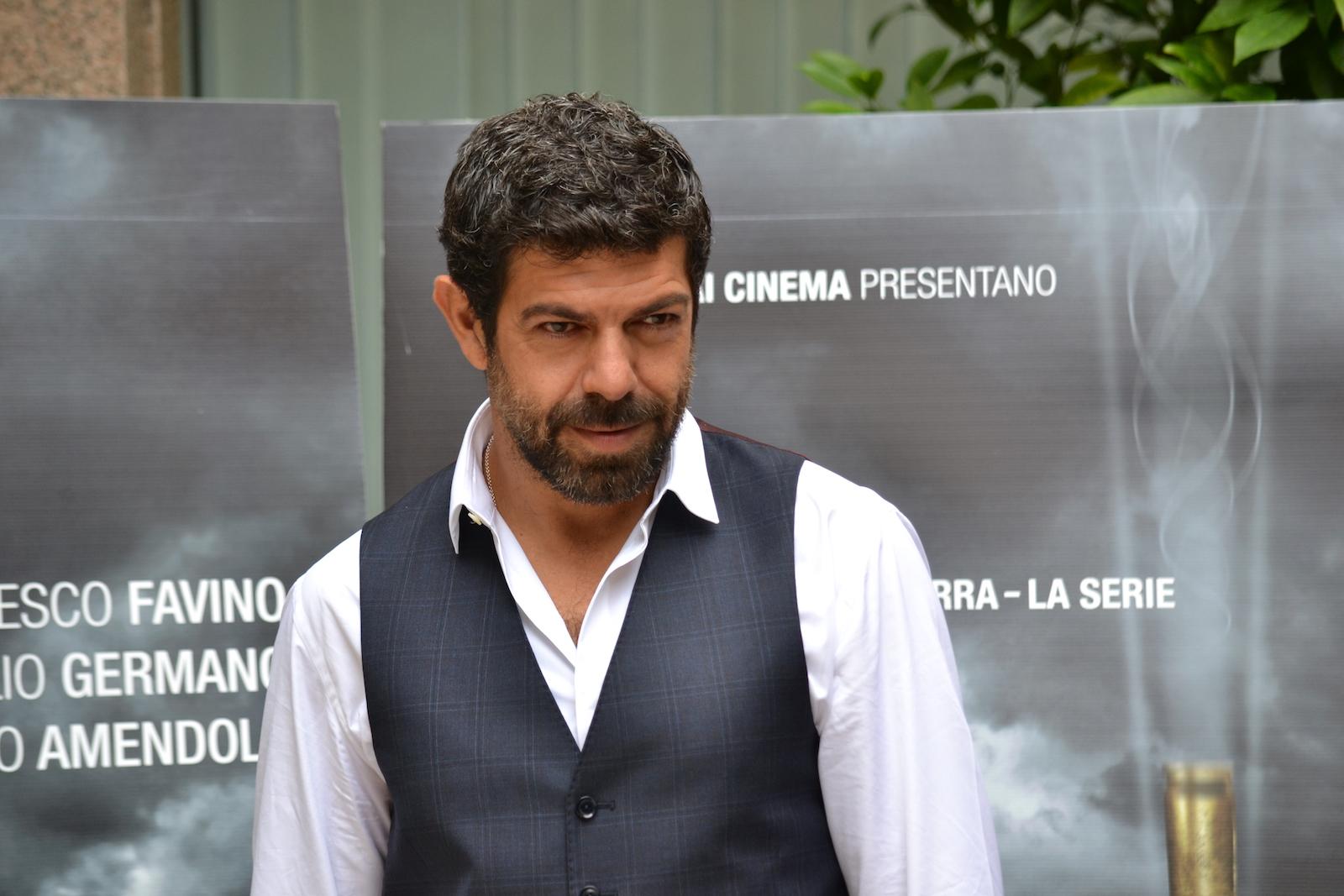 Favino presenta Suburra, del quale è protagonista