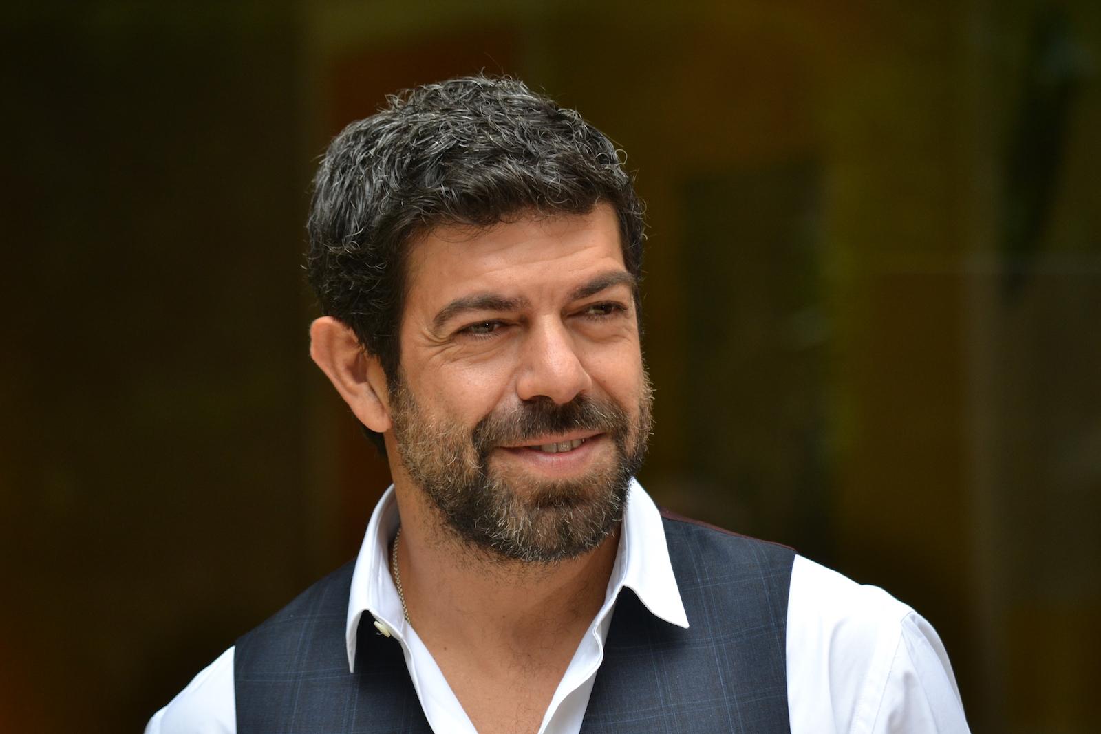 Pierfrancesco Favino presenta Suburra alla stampa