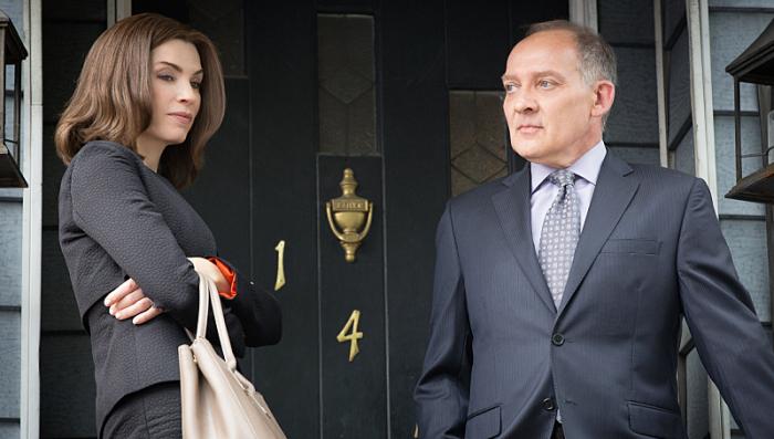 The Good Wife: Julianna Margulies e Zach Grenier in Bond