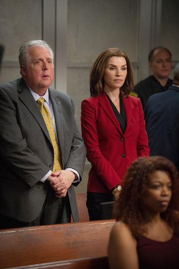 The Good Wife: Rob Bartlett e Julianna Margulies in Bond