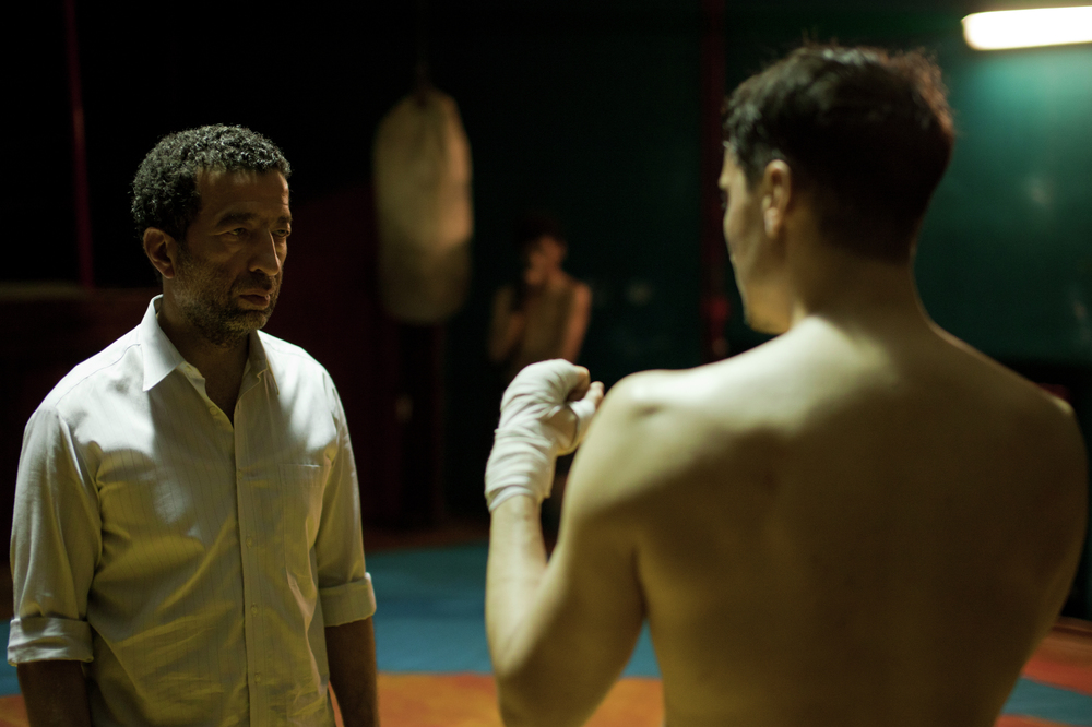 Full Contact: Grégoire Colin e Slimane Dazi in una scena del film