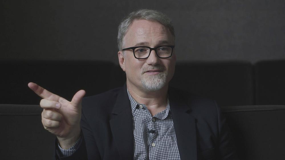 Hitchcock/Truffaut: David Fincher in un'immagine del documentario