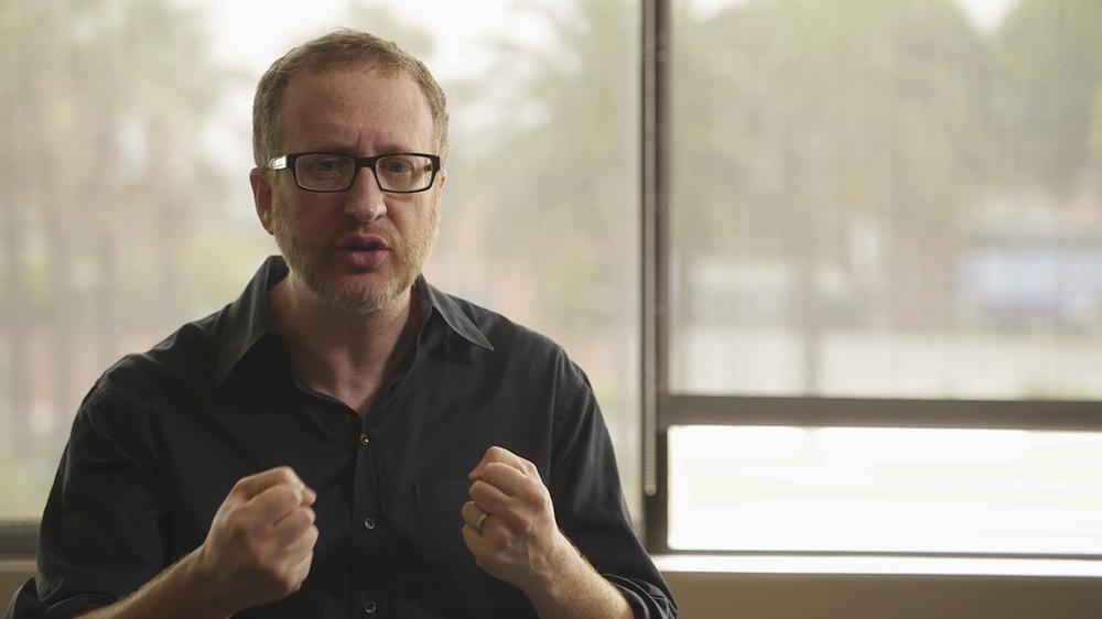 Hitchcock/Truffaut: James Gray in un momento del documentario