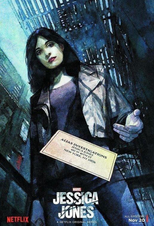 Jessica Jones: il poster della serie
