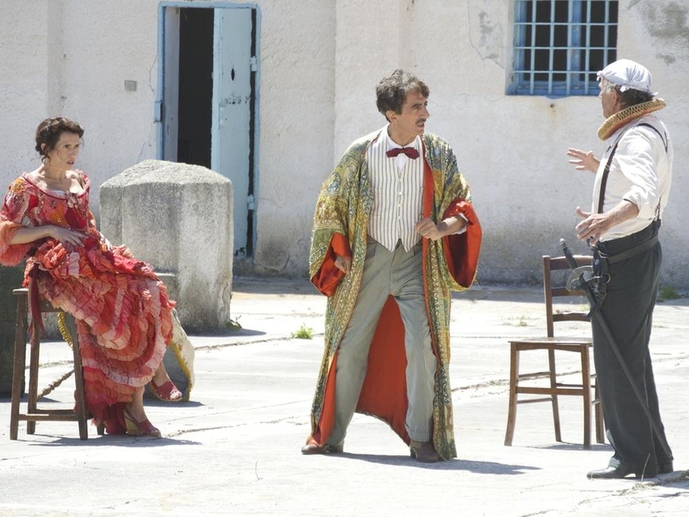 La stoffa dei sogni: Sergio Rubini in una scena del film