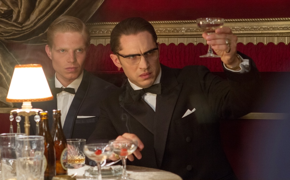 Legend: Tom Hardy in un'immagine tratta dal film