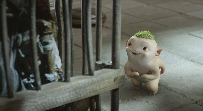 Monster Hunt: una scena del film