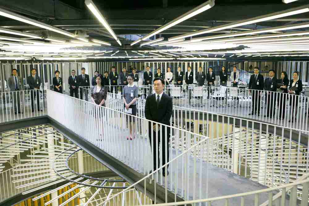 Office: una scena del film diretto dal cineasta hongkonghese Johnnie To