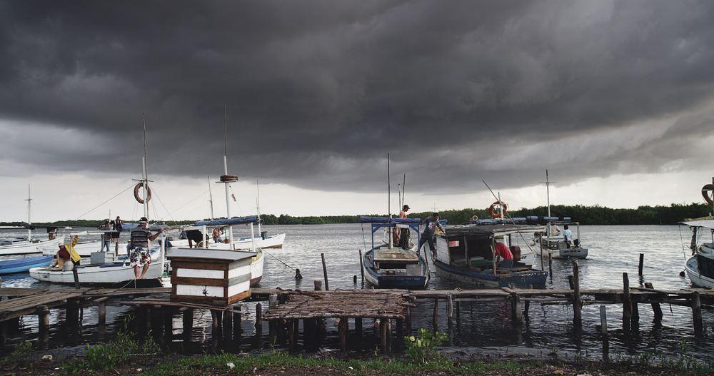 Hurricane 3D: un'immagine del film documentario francese