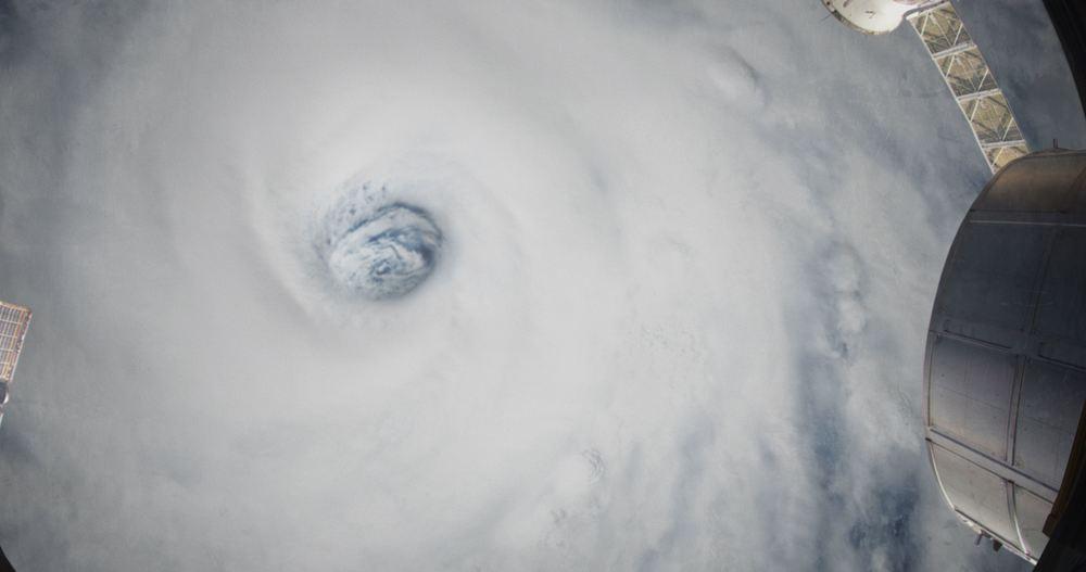 Hurricane 3D: una affascinante immagine del documentario diretto da Cyril Barbançon e Andy Byatt