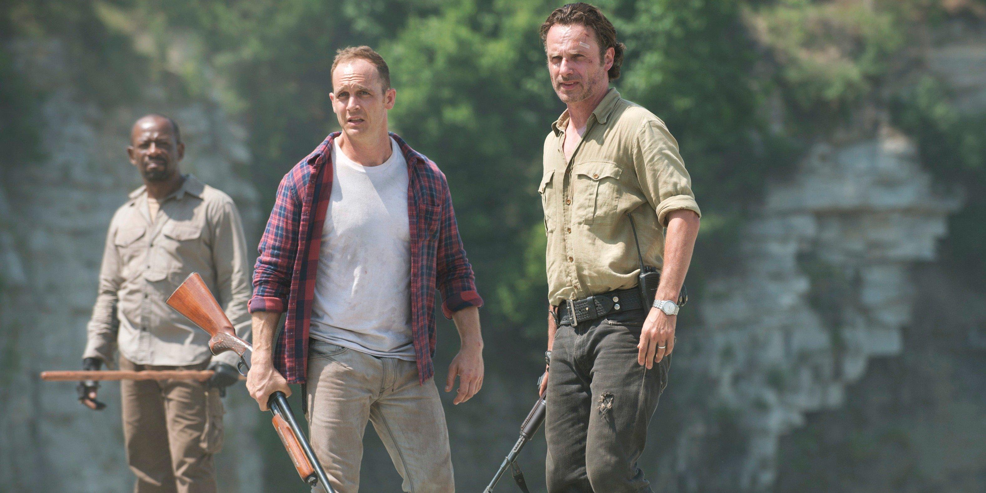 The Walking Dead: Lennie James, Ethan Embry e Andrew Lincoln in Come la prima volta