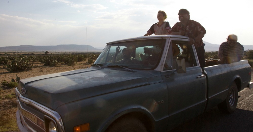 The Thin Yellow Line: un'inquadratura del film