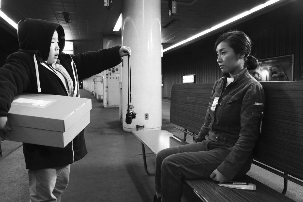 The Whispering Star: una scena del film giapponese