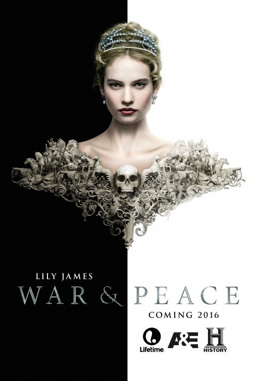 War and Peace: la locandina della serie