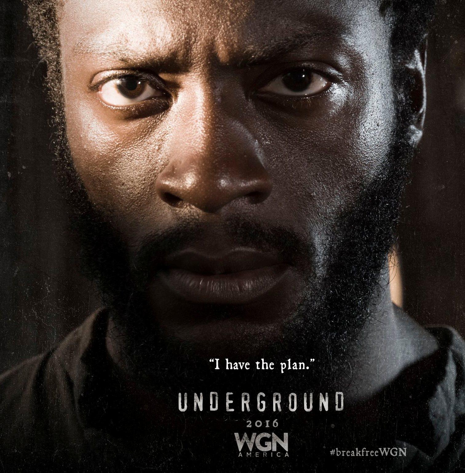 Underground: il poster della serie