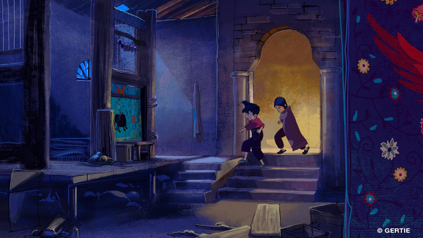 Iqbal: Bambini senza paura, un'immagine tratta dal film animato
