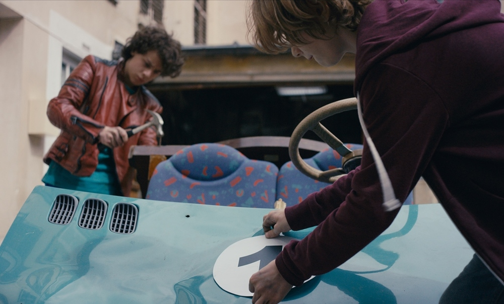 Microbe & Gasoil: Ange Dargent e Théophile Baquet in una scena del film