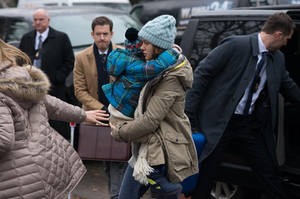 Room: Brie Larson e Jacob Tremblay in un momento del film