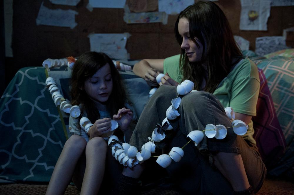 Room: Brie Larson e Jacob Tremblay in un'immagine tratta dal film