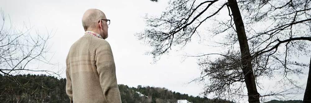 The Confessions of Thomas Quick: Thomas Quick di spalle in una delle poche immagini disponibili online del documentario