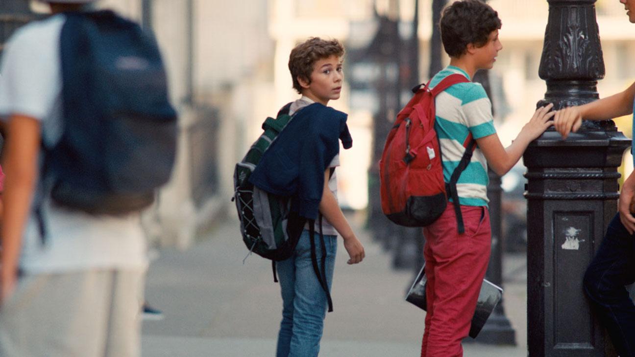 The New Kid: Réphaël Ghrenassia in una scena del film